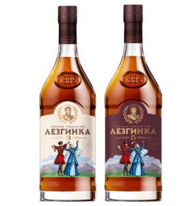 Коньяк Лезгинка